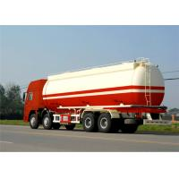 Buy cheap China carbon steel oil storage tank 45000Liters 3 axles oil tanker semi trailer from Wholesalers