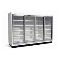 China Refrigerated Vertical Glass Door Freezer, Multideck Frozen Food Cabinets on sale