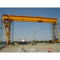 Buy cheap Electric Gantry Crane 20t / 5t General Purposed For Outdoor , Storage Area , Open Yard from Wholesalers