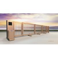 Buy cheap Cantilever Powder Coating Metal Telescopic Sliding Gate with Anti-Collision IR Sensor from Wholesalers