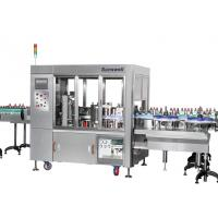 Buy cheap Linear Type Round And Square Bottle Labeling Machine , Sticker Applicator from wholesalers