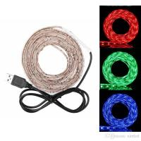 Buy cheap 50cm/ 1m/ 2m Waterproof RGB 5050 SMD USB 30LED Strip Light String Lamp DC 5V from Wholesalers