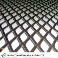 Buy cheap Expanded Metal Grid|Flattened Expanded Mesh Customized Size by Stainless Steel or Aluminum from Wholesalers