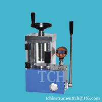 Buy cheap 15T laboratory pellet press machine for making pellets of inorganic powders from Wholesalers