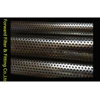 Buy cheap Filtration / Separation Perforated Metal Mesh Filter Tubes With High Performance from wholesalers