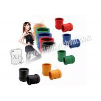 Buy cheap Perspective Dice Cup / Casino Magic Dice Cheating Device With 4h Battery from Wholesalers