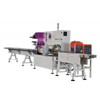 Buy cheap Full Servo Tissue Paper Packing Machine , Wallet Tissue Packaging Machine from wholesalers