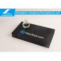 Buy cheap Black Paper Perfume Sets Storage Box Paperboard Gift Boxes Offset Printing from wholesalers