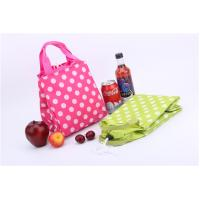 Travel Foldable Polyester Cooler Bag Monogrammed Customized Size