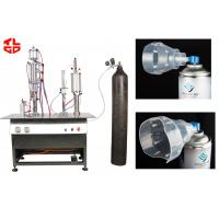 Quality Safe Oil Free Fresh Air / Oxygen Gas Filling Machine With Compressed Air Power wholesale
