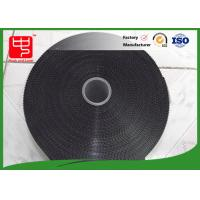 11 inches black velcro tape injection plastic hook and loop super thin hook