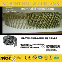 Buy cheap 16 Degree Coil Nails for Wood Pallets from wholesalers