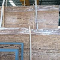 Quality French River Golden Marble Stone Slab / Natural Stone Marble Eco - Friendly for sale