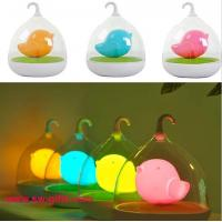 Buy cheap Hand Held Dimmable Night Light Kids Gift Romantic Birdcage Touch Sensor Control Lamps LED from wholesalers