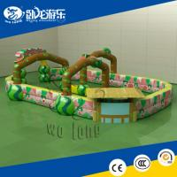 China inflatable twister game, inflatable bouncer castle on sale