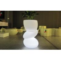 Buy cheap LED lighting flower pot / planter , LED Lighting Furniture with 8 hours Charging time from Wholesalers