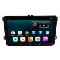 Quality 9 inch android car dvd stereo player with car gps navigation system for VW universal wholesale