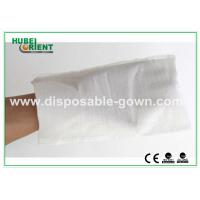 Buy cheap White Hospital Disposable Products Disposable Wiping Cloth Free Size , CE Certificates from wholesalers