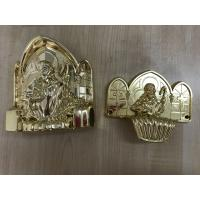 Buy cheap PP new material casket accessories corner coffin furniture corner22# gold silver Or Copper from Wholesalers