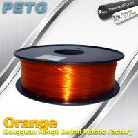 Buy cheap RepRap , UP 3D Printer PETG 1.75 or 3mm filament Acid and Alkali Resistance from wholesalers