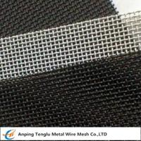 Buy cheap SS 316 Wire Mesh Screen|3~500mesh Square Hole Customized Size from wholesalers
