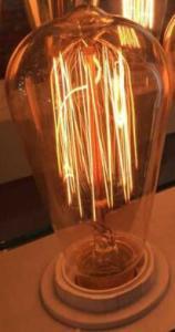 Glass Globe bulb shape LED Lamp