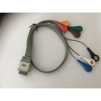 Buy cheap Edan SE2003/ SE2012 Lead Shielded Cable , Bi9800/9000 Ecg Leads Holter Cable from Wholesalers
