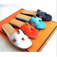 Buy cheap Cheap Hermes 2014 Genuine leather colorful women fashion slippers ,Replica women shoes from Wholesalers
