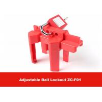 Buy cheap CE Approval Corrosion Resistance OSHA Standard Adjustable Ball Valve Lockout from Wholesalers