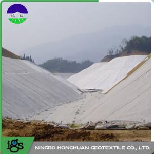Quality Railway Composite Geotextile Compounding Silk , Nonwoven Geotextile wholesale