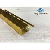 Quality Ceramic Tiles Decorative Aluminium Trim With Polishing Surface Treatment wholesale