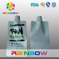 Buy cheap Laminated  Nylon 3 - Side White Spout Pouch Packaging Automated Printed Logo from Wholesalers
