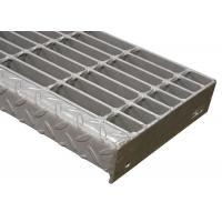 China Q235 Carbon Ms Banded Steel Stair Treads Grating Advanced Pressure Welding Way on sale