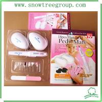 Personal battery operated manicure pedicure set