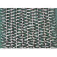 Buy cheap Competitive Price Balanced Spiral Woven SS Conveyor Belt Abrasion Resistance High Precision from wholesalers