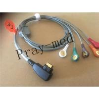 Buy cheap 19 Pin Snap ECG Patient Cable 5 Lead DMS 300 System Holter Compatible Patient Safety from Wholesalers