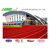 Quality synthetic running track Spray Coating System or Paint System Running Track for Track Field wholesale
