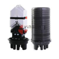 Buy cheap Vertical Fiber Optic Closure 288 Cores Dome 6 Round Ports For Aerial from Wholesalers