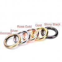 Buy cheap Zinc Alloy Handbag Rings Hardware Round Spring Gate O Ring User Friendly from Wholesalers