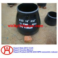Buy cheap ASTM A234 WP9 concentric reducer from Wholesalers