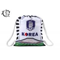 Buy cheap Sublimation Printed Soccer String Bags , Korea Baseball Custom Cinch Bags from Wholesalers