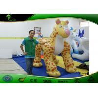 3M Cartoon Inflatable Leopard Costumes / Inflatable Advertising Products