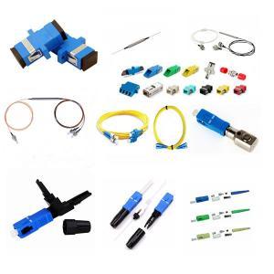 Buy cheap Adjustable Attenuator VOA Optical Attenuator SC APC Single mode 1dB attenuator SC Type Fiber Optic Fixed Attenuator from wholesalers