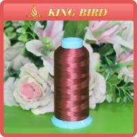 Buy cheap Dyed Filament Embroidery Bobbin Thread Polyester Mercerized For clothing from Wholesalers