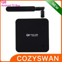 Buy cheap Plastic Android Smart TV Box Hardware decode H.265 quad core 2+8GB 4.4 from Wholesalers