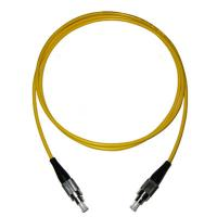 Simplex Single Mode Fiber Patch Cord 3.0mm , CATV / Test Fiber Optic Cord