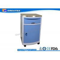 Buy cheap Economic Hospital Furniture ABS Medical Bedside Cabinet With One Door For Hospital from Wholesalers