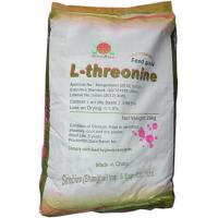 Buy cheap White Animal Nutrition L Threonine 98.5 Feed Grade Amino Acids No.SAA-THRL98 from Wholesalers