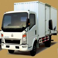 Buy cheap 2.5 Ton HOWO 4x2 Van Light Truck from Wholesalers