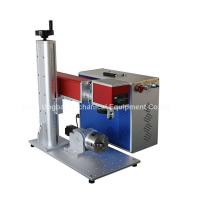 Quality Mini Type Fiber Laser Marking Machine for Logo Marking wholesale